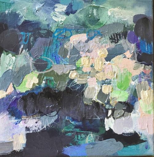 Spray  | Acrylic on canvas by Kate Barry