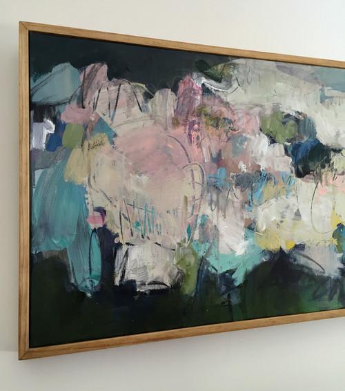 Landscape 3  | Acrylic on canvas by Kate Barry