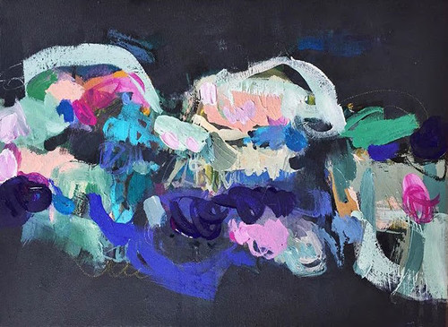 Traverse  | Acrylic on canvas by Kate Barry