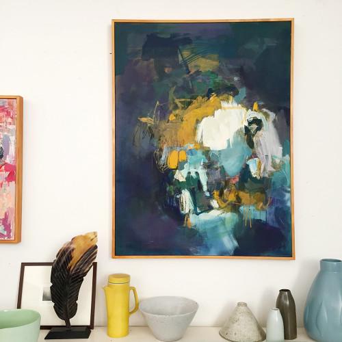 Kate Barry Artist | Dogged | 104 cm x 76 cm
