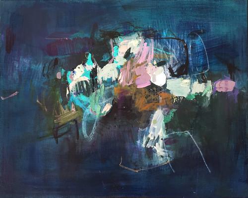 Kate Barry Artist | Rebound | 43 cm x 54 cm
