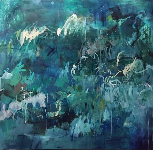 Kate Barry Artist   Replenish   104 cm x 104 cm