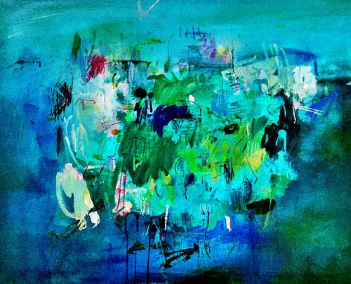 The Bay | Digital Fine Art Print by Kate Barry