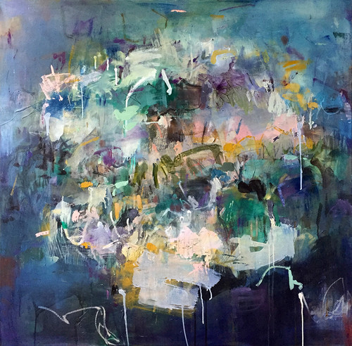 Weatherboard | 125 cm x 125 cm | Framed | Oil and acrylic on linen