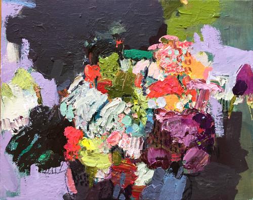 Kate Barry Artist | Flowers | 54 cm x 44 cm