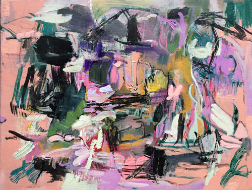 Kate Barry Artist | Holiday Shirt | 44 cm x 54 cm | Framed | Oil on canvas