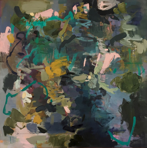 Equinox Still   Oil and acrylic on linen by Kate Barry