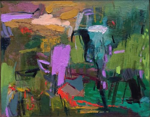 Kate Barry Artist   Fruitful   23 cm x 28 cm   Framed   Oil and acrylic on canvas