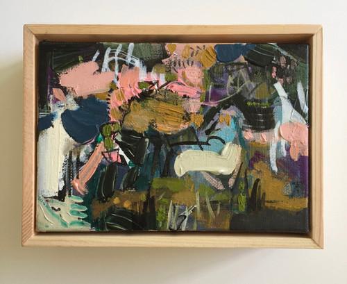 Frisk   15 cm x 20 cm   Framed   Oil and acrylic on canvas
