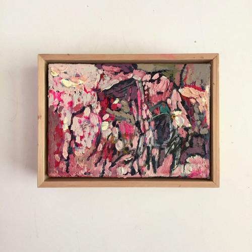 Flutter | 15 cm x 20 cm | Framed | Oil and acrylic on canvas