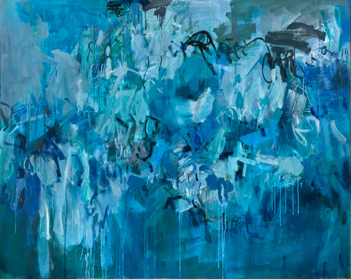 Kate Barry Artist | Submergence| 125 cm x 155 cm