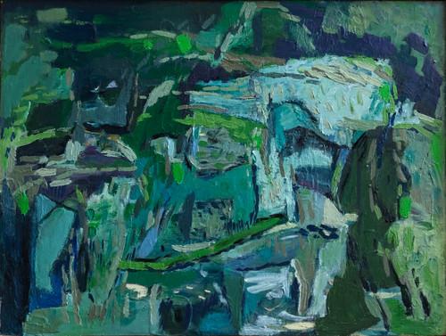 Kate Barry Artist   Linger   34 cm x 44 cm   Framed   Oil on canvas