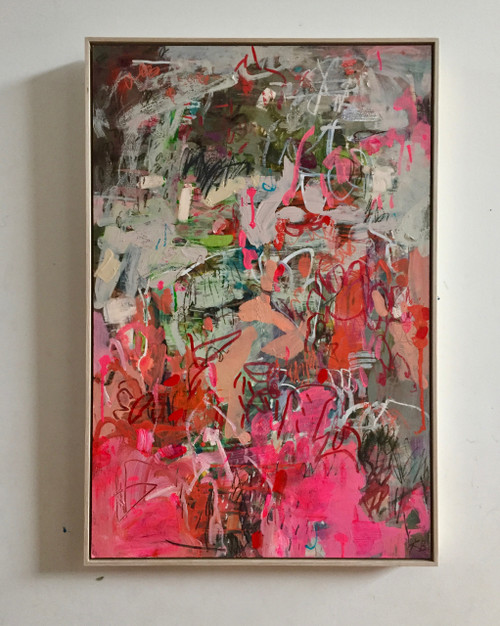 Effit | 55 cm x 83 cm | Framed | Acrylic and pastel on board