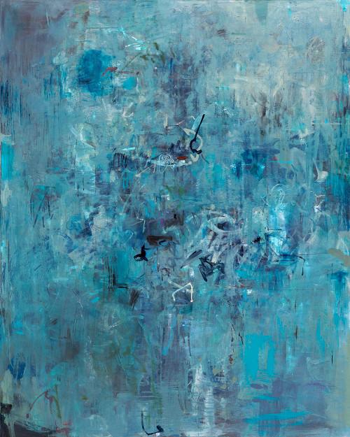 Faded Farewell    155 cm x 125 cm   Framed   Oil on canvas   Kate Barry