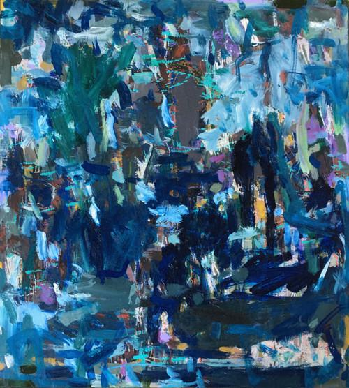 River Flecks | 58 cm x 53 cm | Framed | Oil on archival board