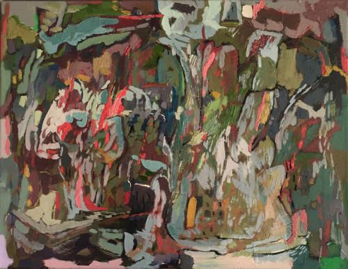 Child's Garden  | 35 cm x 46 cm | Framed | Oil on canvas