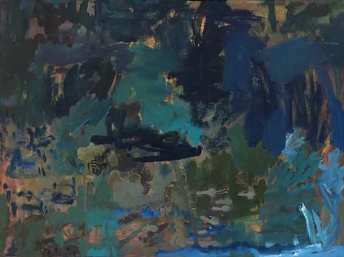 Adrift from the Shore   63 cm x 47 cm   Framed   Oil on canvas