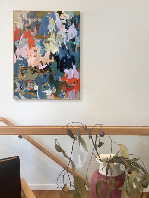 Freak Move  | 63 cm x 48 cm | Framed | Oil on board