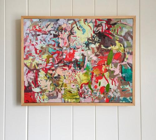 Kaleidascope   27 cm x 31 cm   Framed   Oil on canvas