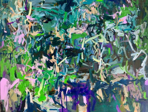 Lost In The Crowd   82 cm x 110 cm   Framed   Oil on canvas