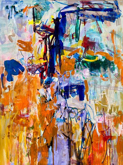 Common Ground | 125 cm x 95 cm | Framed | Oil on canvas