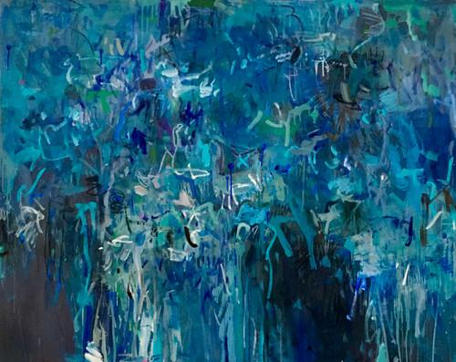 Plateau | 1155 cm x 125 cm | Framed | Oil on canvas