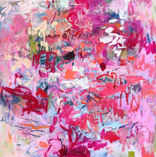 Savvy | 78 cm x 78 cm | Framed | Oil on canvas