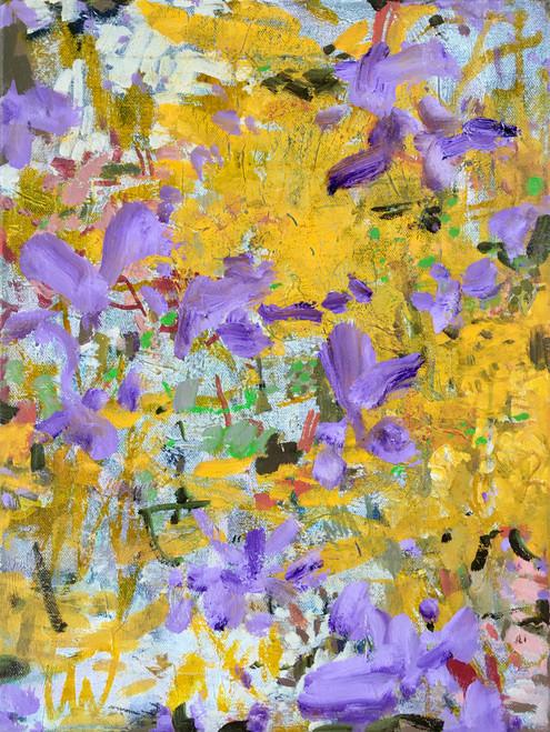 Petal Searching | 43 cm x 33 cm | Framed | Oil on canvas