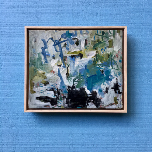 Small Scape | 33 cm x 43 cm | Framed | Oil on canvas