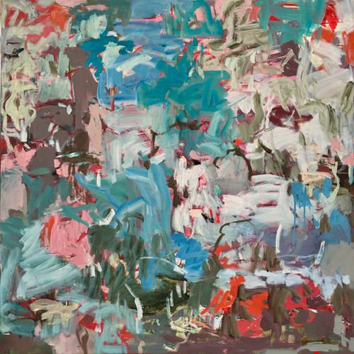 Panettone | 87 cm x 87 cm | Framed | Oil, ink and acrylic on canvas