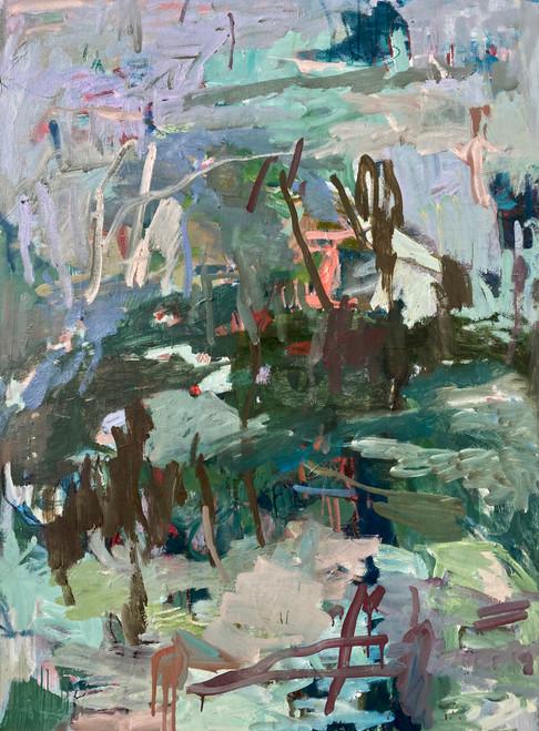 Once a Year | 104 cm x 79 cm x 1.5 cm | Framed | Oil on canvas