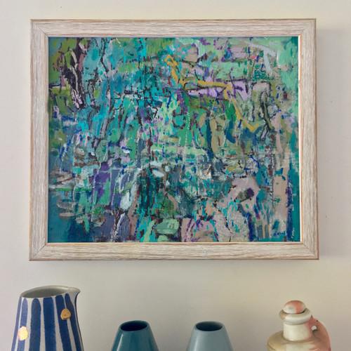 Back Yard 1  | 28 cm x 33 cm | Framed | Oil on canvas
