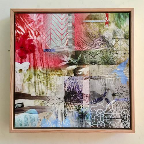 Kate Barry Artist | NOOSA SERIES 1 | 40 cm x 40 cm Giclée print on archival canvas