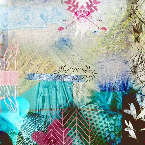 Kate Barry Artist | NOOSA SERIES 5 | 40 cm x 40 cm Ink print on archival paper or canvas
