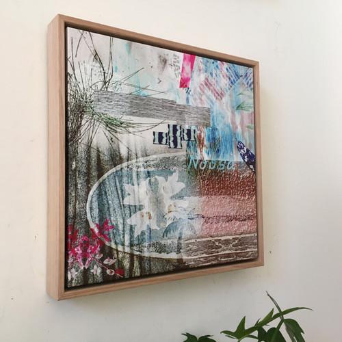 Kate Barry Artist | NOOSA SERIES 8 | 40 cm x 40 cm Giclée print on archival canvas