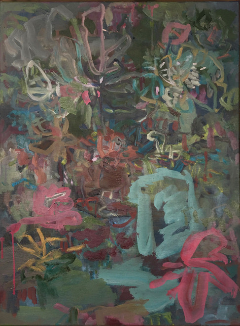 Dining Late | 83 cm x 63 cm | Framed | Oil on canvas