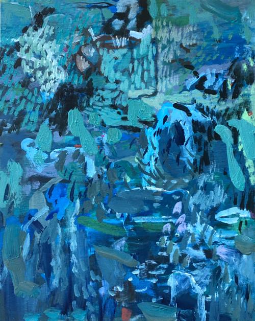 Cool Hand | 25 cm x 20 cm x 3.5 cm | Oil on board