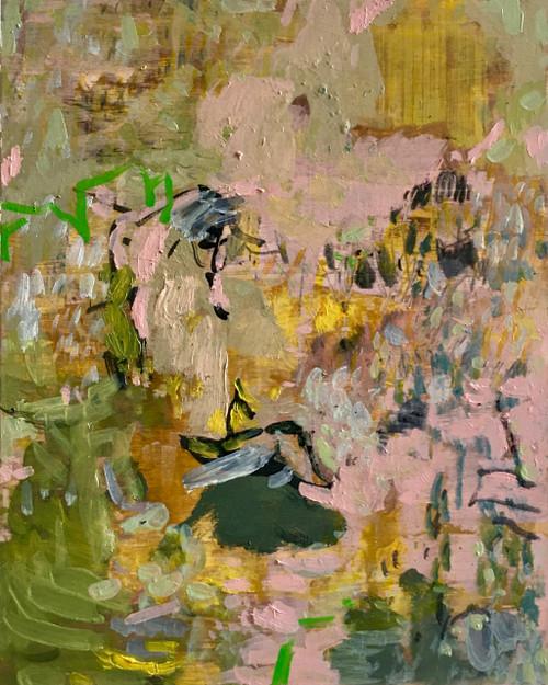 Clara   25 cm x 20 cm x 3.5 cm   Oil on board