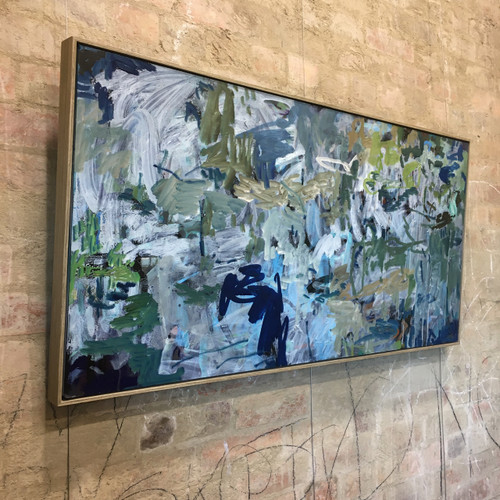 Flight Wings | 63 cm x 125 cm | Framed | Oil on board SOLD ⚫️