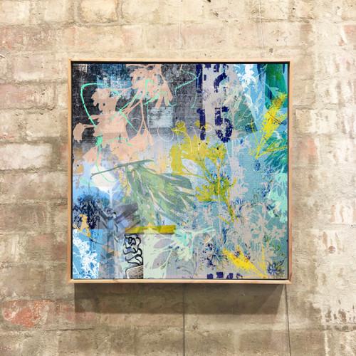 Glories | Framed Digital Art Giclée Print on canvas