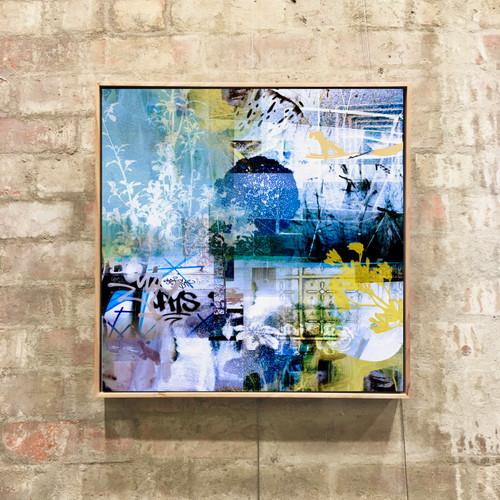 Wattle | Framed Digital Art Giclée Print on canvas