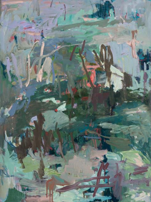 Once A Year | Framed Fine Art Giclée Print on canvas