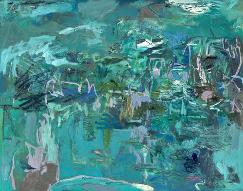 Split Paths | Framed Fine Art Giclée Print on canvas