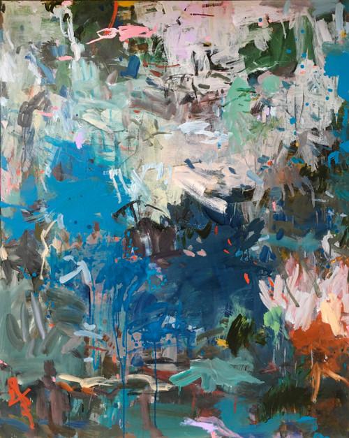 Paroxysm | 155 cm x 125 cm | Framed | Acrylic and oil on canvas
