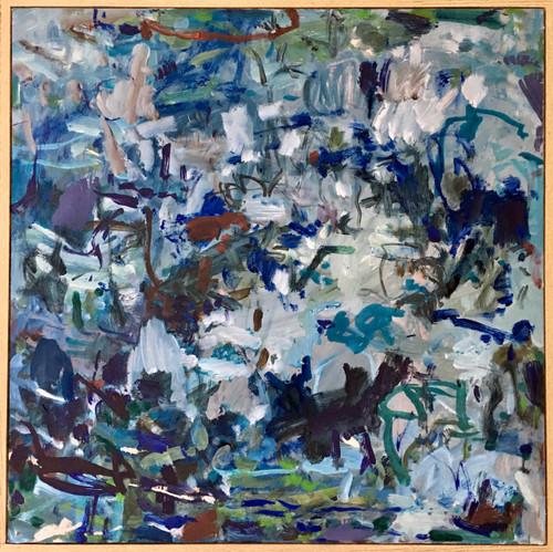 Escarpment | 60 cm x 60 cm | Framed | Oil on canvas