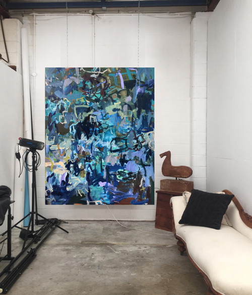 Jungle Out There | 155 cm x 126 cm | Framed | Oil  on canvas