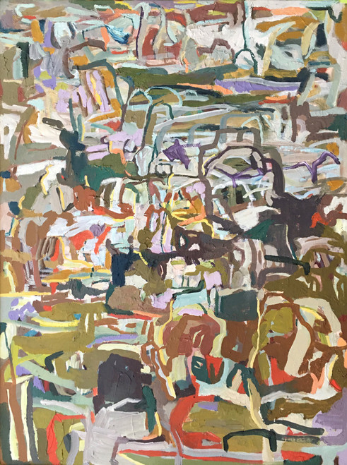 Diminish | 64 cm x 49 cm | Framed | Oil on canvas