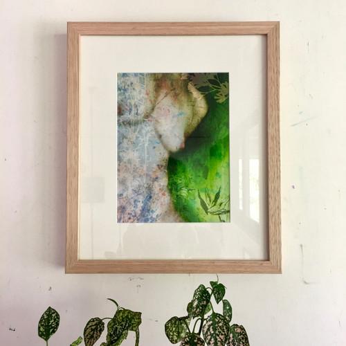 Disclose   Framed   36 x30 cm   Digital Art Giclée Print on paper