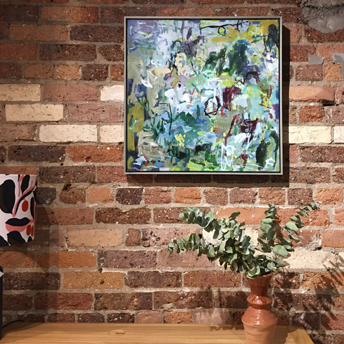 Ritual | 64 cm x 64 cm | Framed | Oil on linen