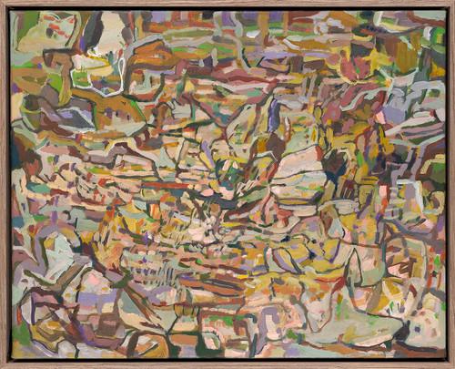 Chrysalis | 42 cm x 52 cm | Framed | Oil on canvas